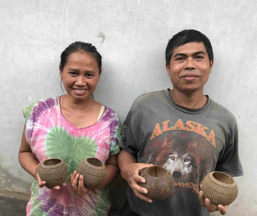 Let's meet… Mitra Bali & the Candle Holder Coco